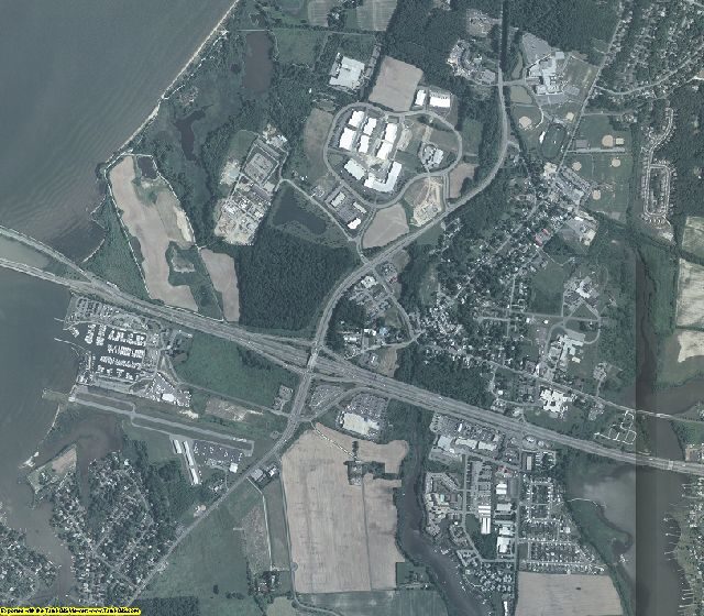 Queen Anne's County, Maryland aerial photography