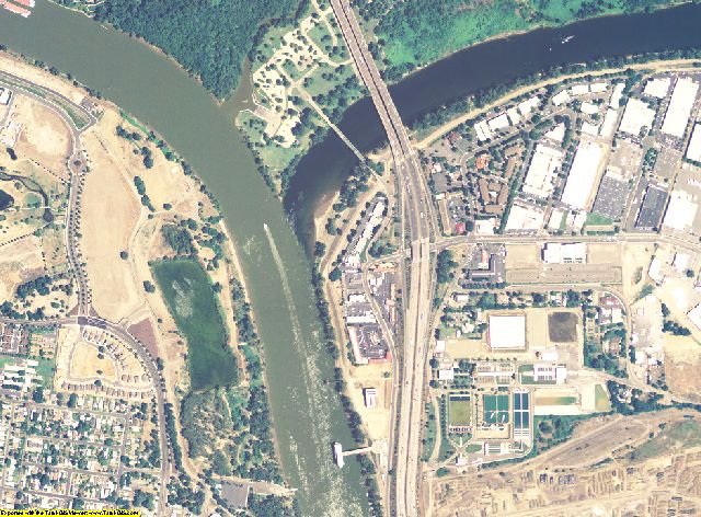 Sacramento County, California aerial photography