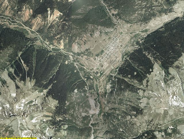 San Juan County, Colorado aerial photography