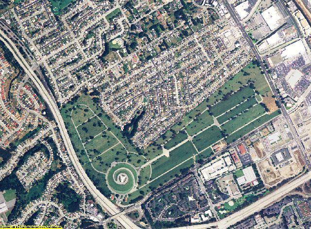 San Mateo County, California aerial photography