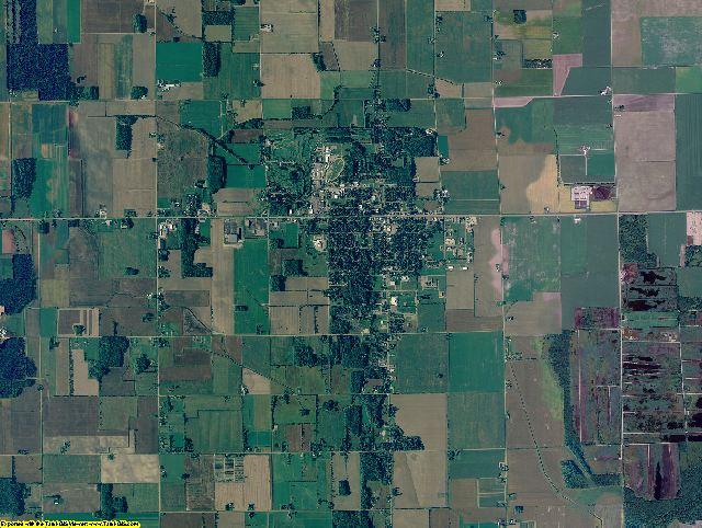 Sanilac County, Michigan aerial photography