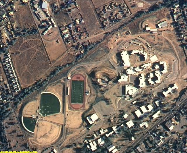 Santa Fe County, NM aerial photography detail