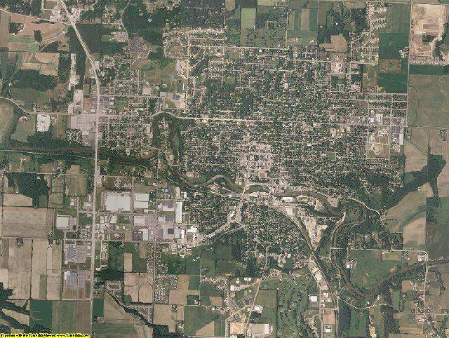 Sauk County, Wisconsin aerial photography