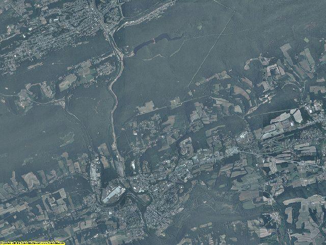 Schuylkill County, Pennsylvania aerial photography