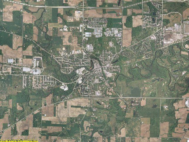 Sheboygan County, Wisconsin aerial photography
