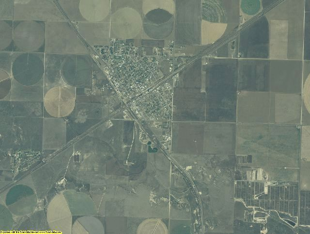 Sherman County, Texas aerial photography