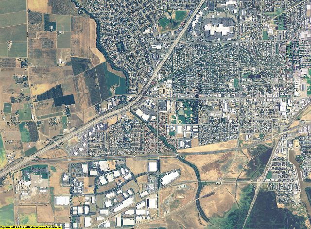 Solano County, California aerial photography