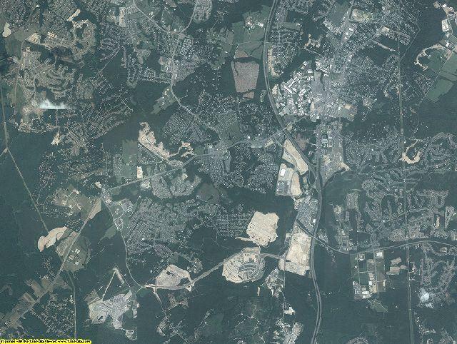 Spotsylvania County, Virginia aerial photography