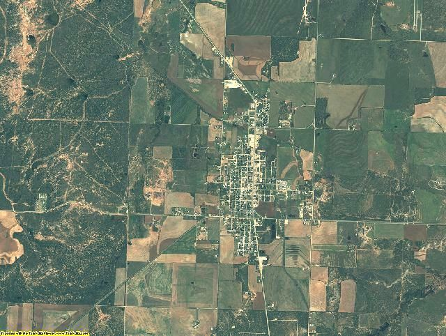 Stonewall County, Texas aerial photography