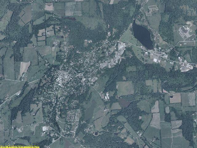Susquehanna County, Pennsylvania aerial photography