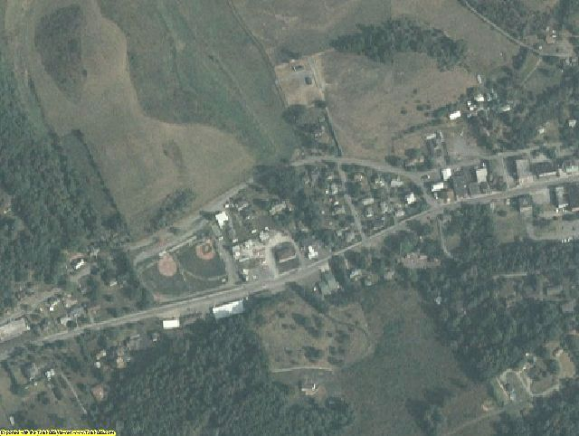 Tazewell County, VA aerial photography detail