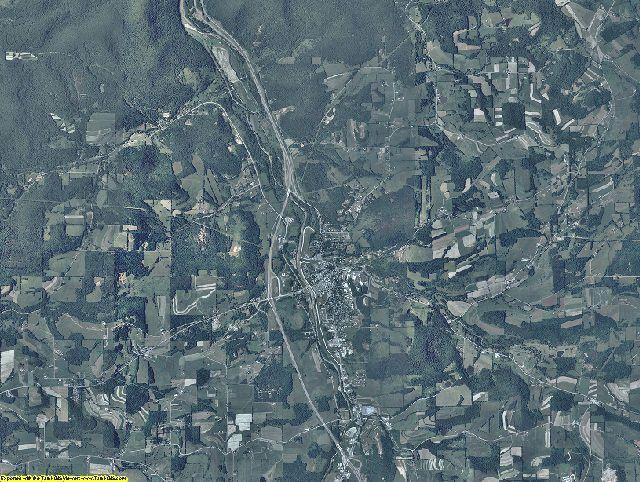 Tioga County, Pennsylvania aerial photography