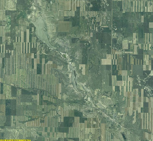 Toole County, Montana aerial photography