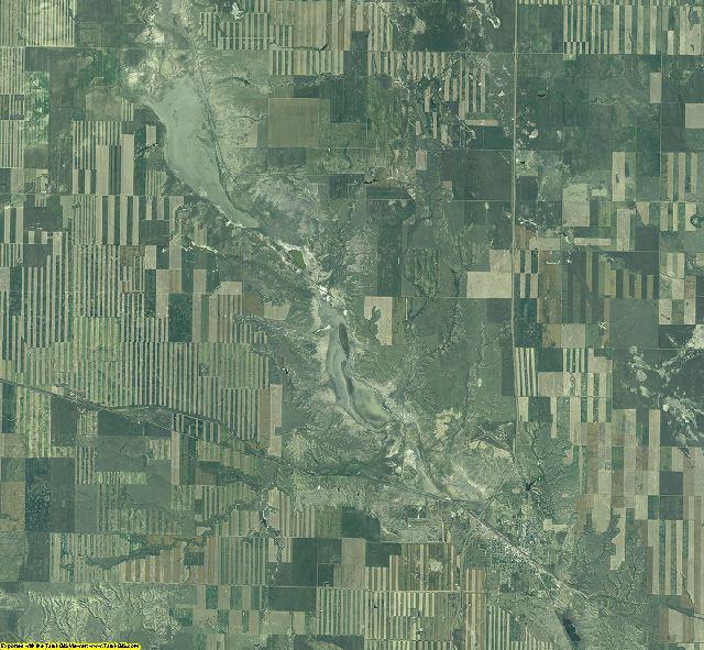 Toole County, Montana aerial photography