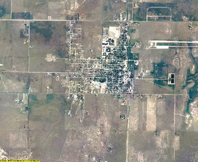 Torrance County, New Mexico aerial photography