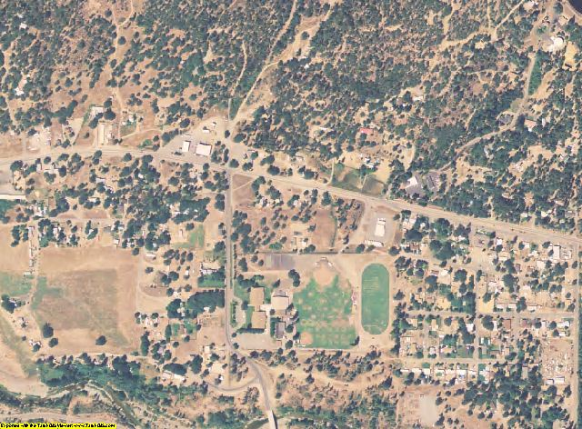 Trinity County, California aerial photography