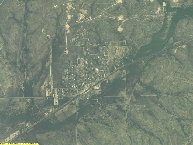 Upton County, Texas aerial photography