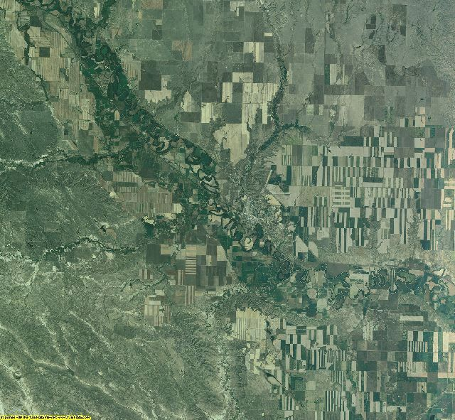 Valley County, Montana aerial photography