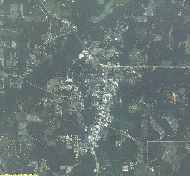 2005 Vernon County, Louisiana Aerial Photography