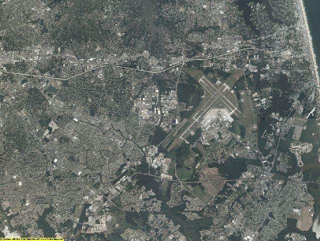 Virginia Beach County, Virginia aerial photography