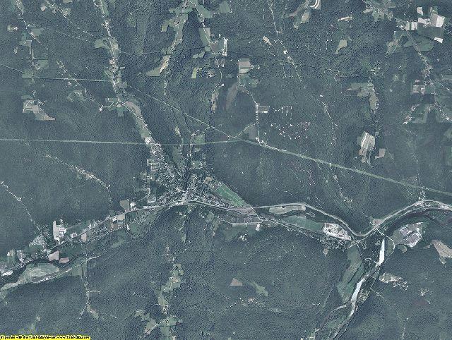 Warren County, Pennsylvania aerial photography