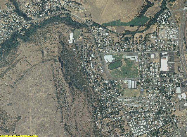 Wasco County, Oregon aerial photography