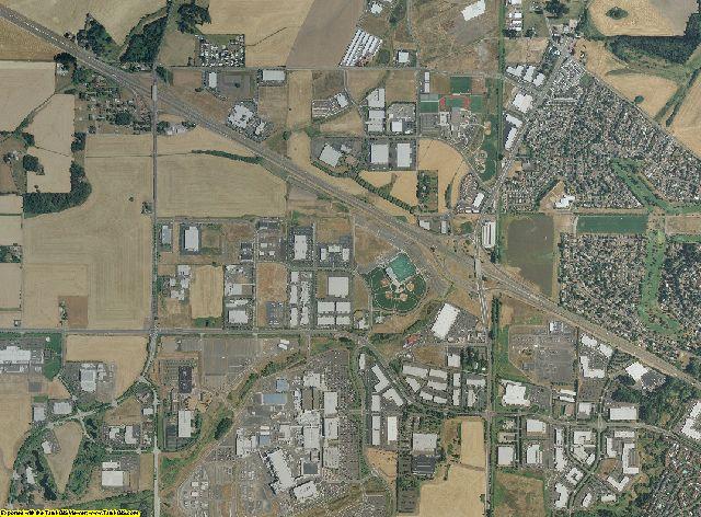 Washington County, Oregon aerial photography