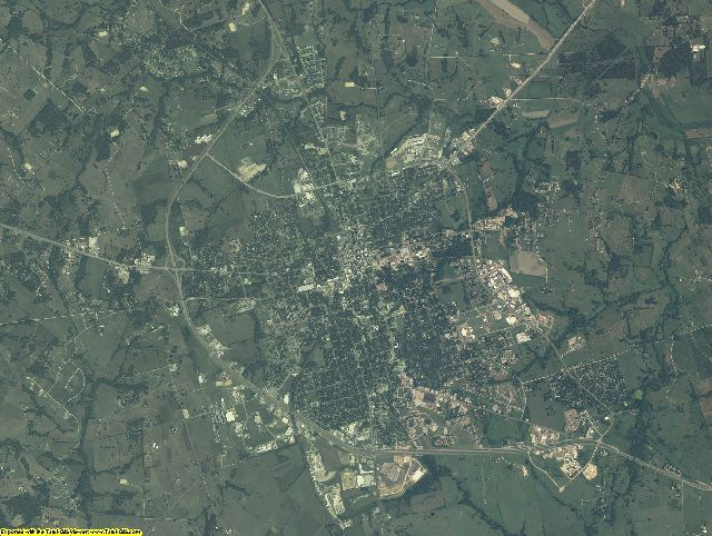 Washington County, Texas aerial photography