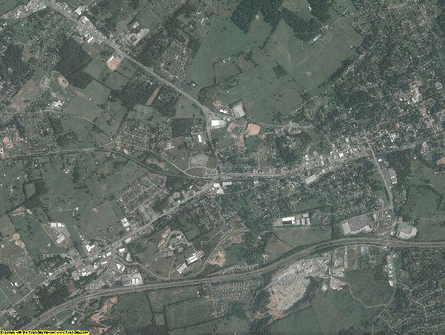 Washington County, Virginia aerial photography