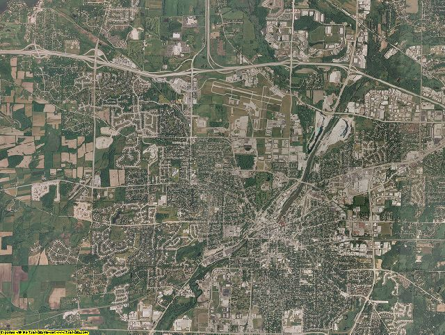 Waukesha County, Wisconsin aerial photography