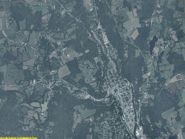Wayne County, Pennsylvania aerial photography