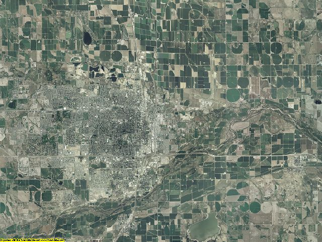 Weld County, Colorado aerial photography