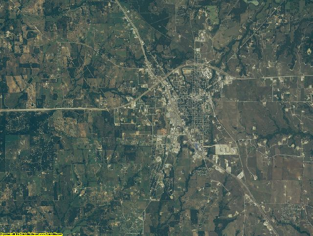 Wise County, Texas aerial photography