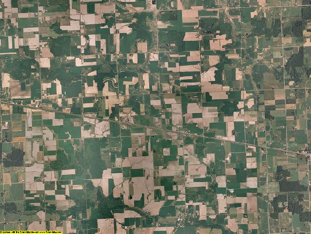 Wood County, Wisconsin aerial photography