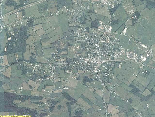 Wythe County, Virginia aerial photography