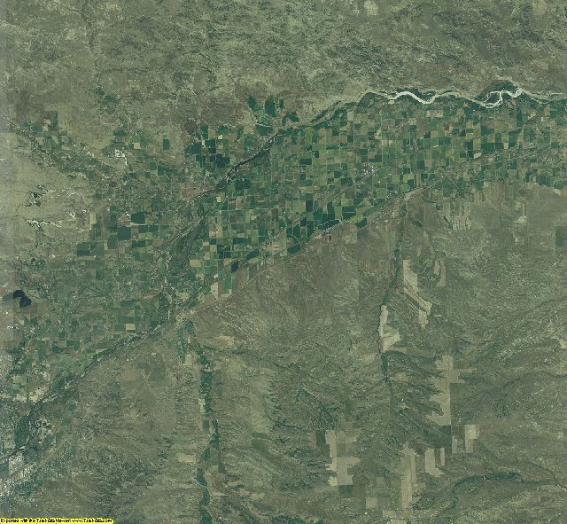 Yellowstone County, Montana aerial photography