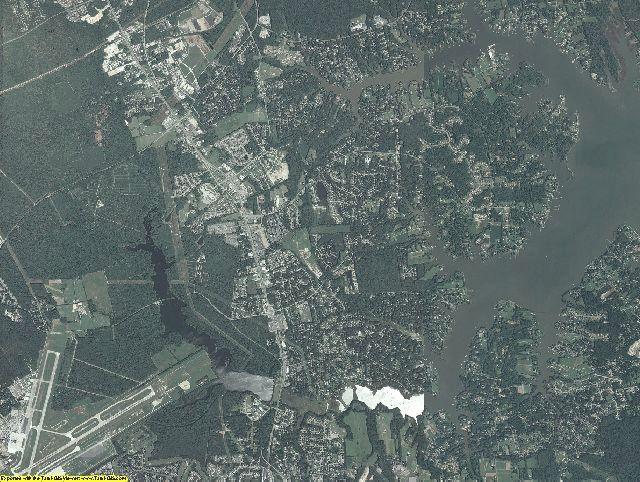 York County, Virginia aerial photography