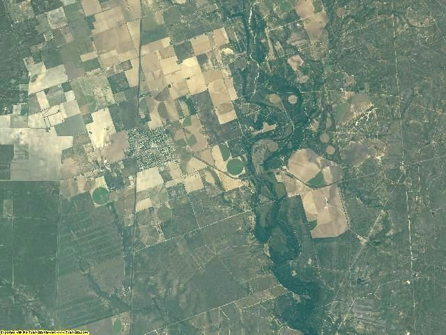 Zavala County, Texas aerial photography
