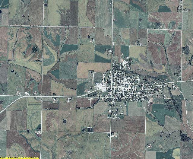 Adair County, Iowa aerial photography