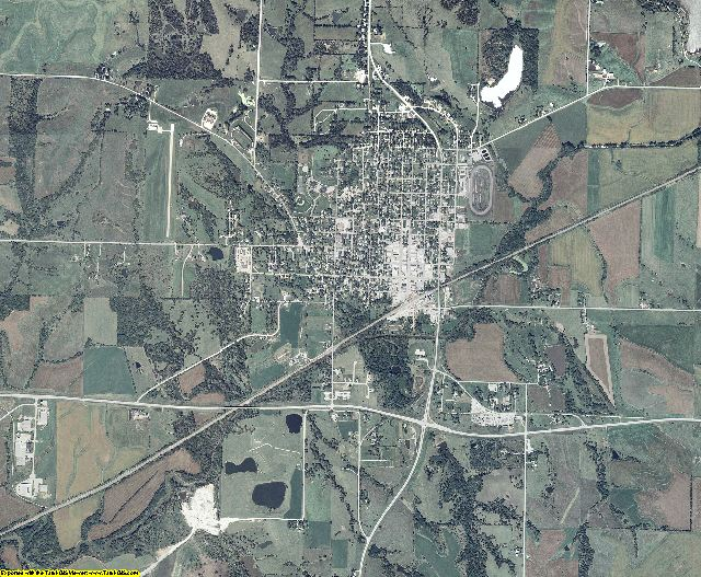 Adams County, Iowa aerial photography