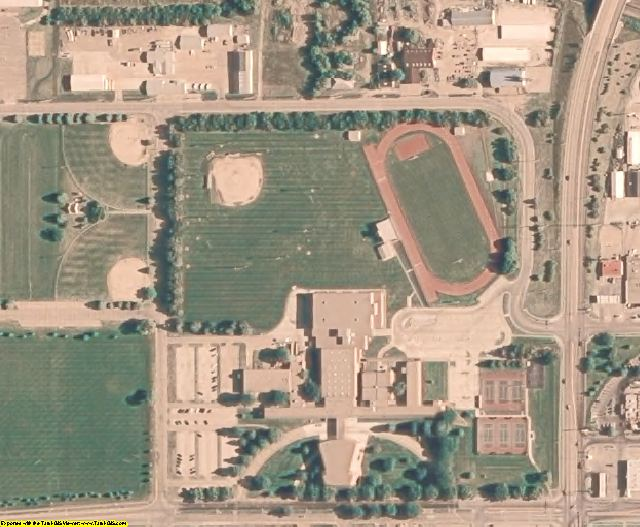 NE aerial photography detail