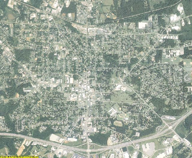 Alamance County, North Carolina aerial photography