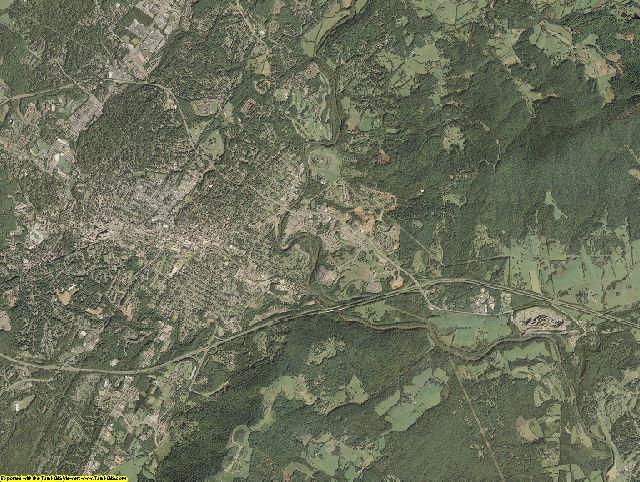 Albemarle County, Virginia aerial photography