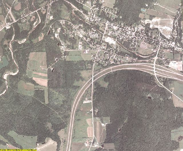 Allegany County, New York aerial photography