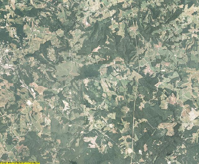 Alleghany County, North Carolina aerial photography