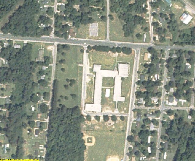 Allendale County, SC aerial photography detail
