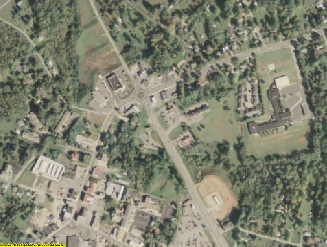 Amherst County, VA aerial photography detail