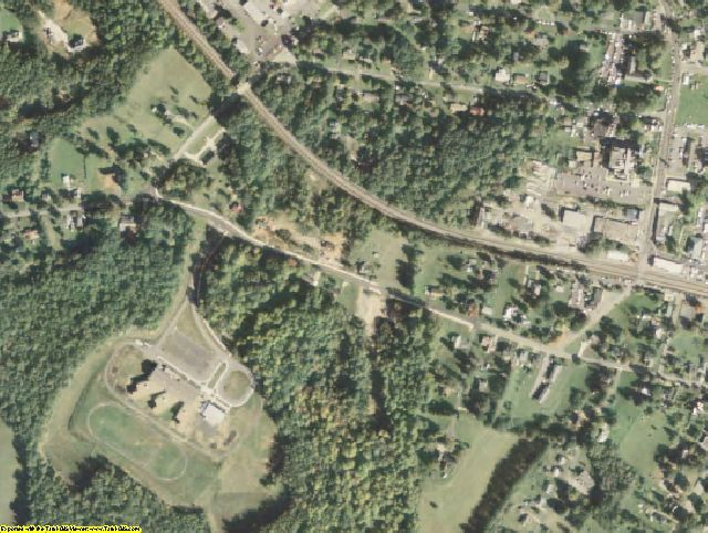 Appomattox County, VA aerial photography detail