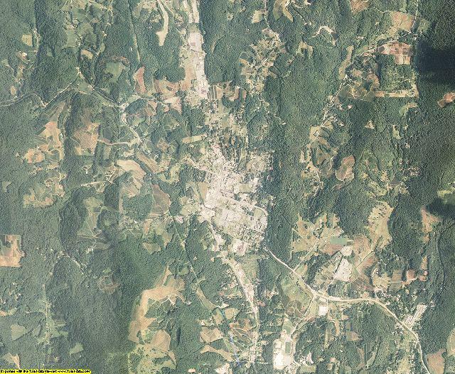 Avery County, North Carolina aerial photography