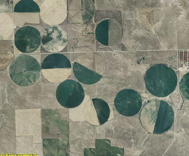 Banner County, Nebraska aerial photography